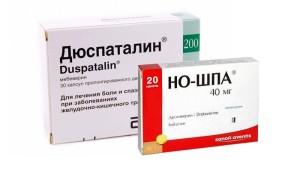 Дюспаталин, Но-шпа