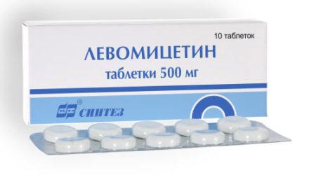 От чего помогают капли и таблетки «Левомицетин»