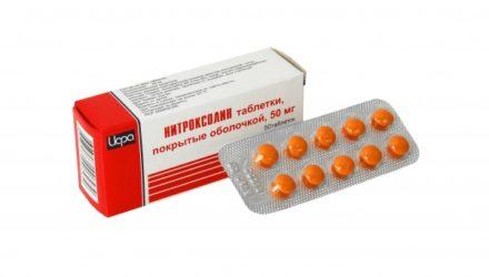 От чего помогают «Нитроксолин» таблетки