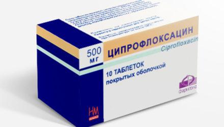 От чего помогают таблетки «Ципрофлоксацин»