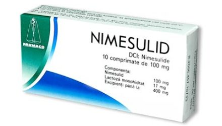 От чего помогают таблетки «Нимесулид»