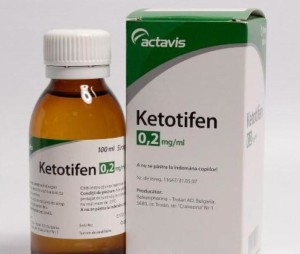 Кетотифен: инструкция