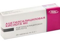 Ацетилсалициловая кислота от чего