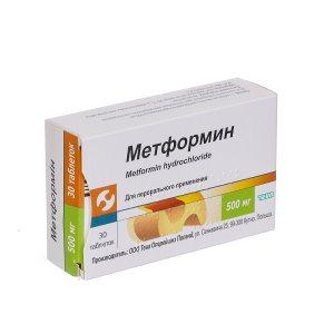 Метформин инструкция