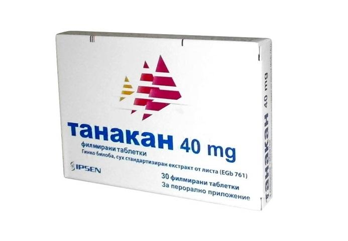 Танакан лекарство
