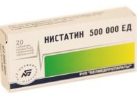 От чего помогает «Нистатин». Инструкция по применению свечей и таблеток