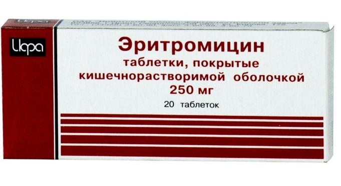 Эритромицин инструкция