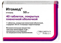 Таблетки «Итомед»: инструкция, отзывы и цены