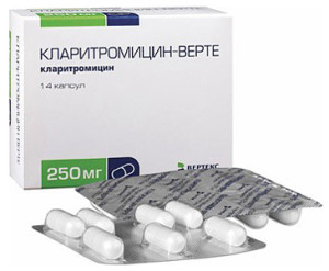 Кларитромицин инструкция