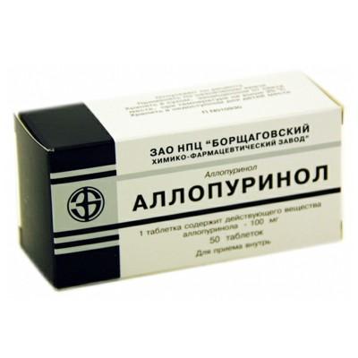 Аллопуринол инструкция