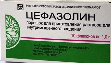 От чего помогают уколы «Цефазолин». Инструкция, отзывы и цена