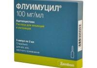 От чего помогает «Флуимуцил — антибиотик ИТ». Инструкция по применению для ингаляций и внутрь