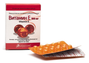 витамин Е инструкция
