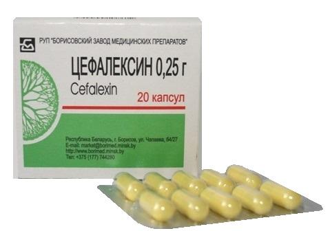цефалексин таблетки инструкция к применению