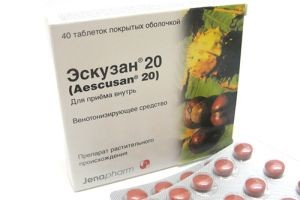 Эскузан таблетки