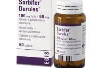 От чего помогает «Сорбифер Дурулес»? Инструкция, цена, отзывы и аналоги