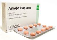 Суспензия и таблетки «Альфа Нормикс»: инструкция, отзывы, аналоги и цены