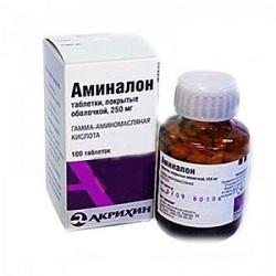 Аминалон таблетки