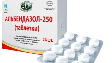 Таблетки и суспензия «Альбендазол»: инструкция, цена и реальные отзывы