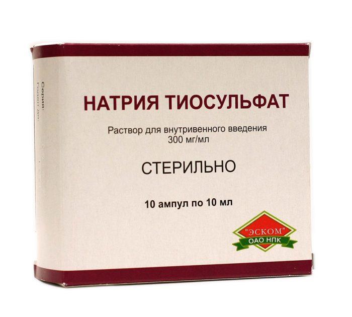 Как часто можно употреблять тиосульфат натрия