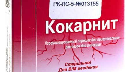 Ампулы «Кокарнит»: инструкция, цены и реальные отзывы пациентов